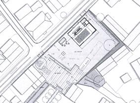 Ursprüngliche Planung eines Bürgerhauses